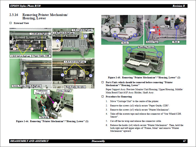 service manual bx305f
