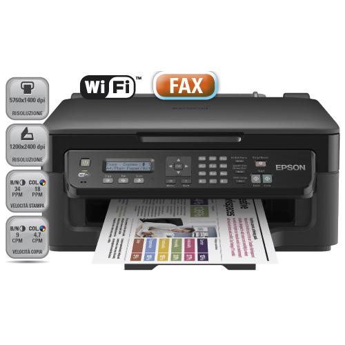 configurare il fax su epson wf 2510stampanti epson. Black Bedroom Furniture Sets. Home Design Ideas