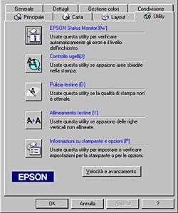 Pulizia Testina Epson
